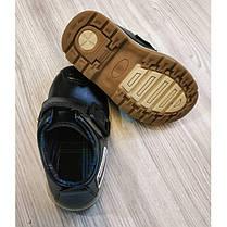 Туфли детские на мальчика из еко кожи черные Frogprince размер 21-30, фото 2
