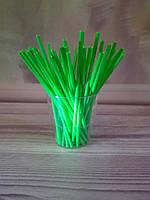 Палочки для кейк- попсов зеленые, 15 см