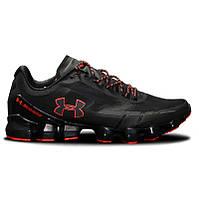 dc5ae14c Мужские кроссовки в стиле Under Armour Scorpio Running shoes black and  orange (Топ качество)