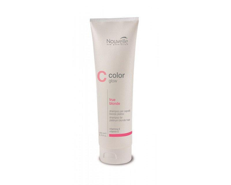 Nouvelle True Blonde Shampoo Шампунь против желтизны волос, 200 мл