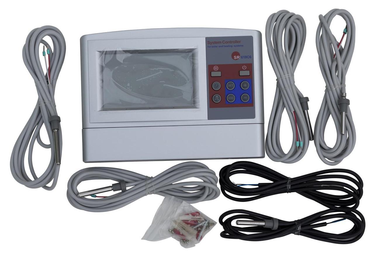 Контроллер для солнечных систем SR618С6