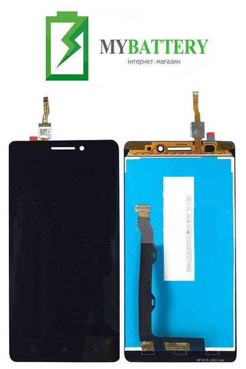 Дисплей (LCD) Lenovo A7000 Plus/A7000 Turbo/K3 Note (K50-T3s)/K3 Note (K50-T5) с сенсором черный