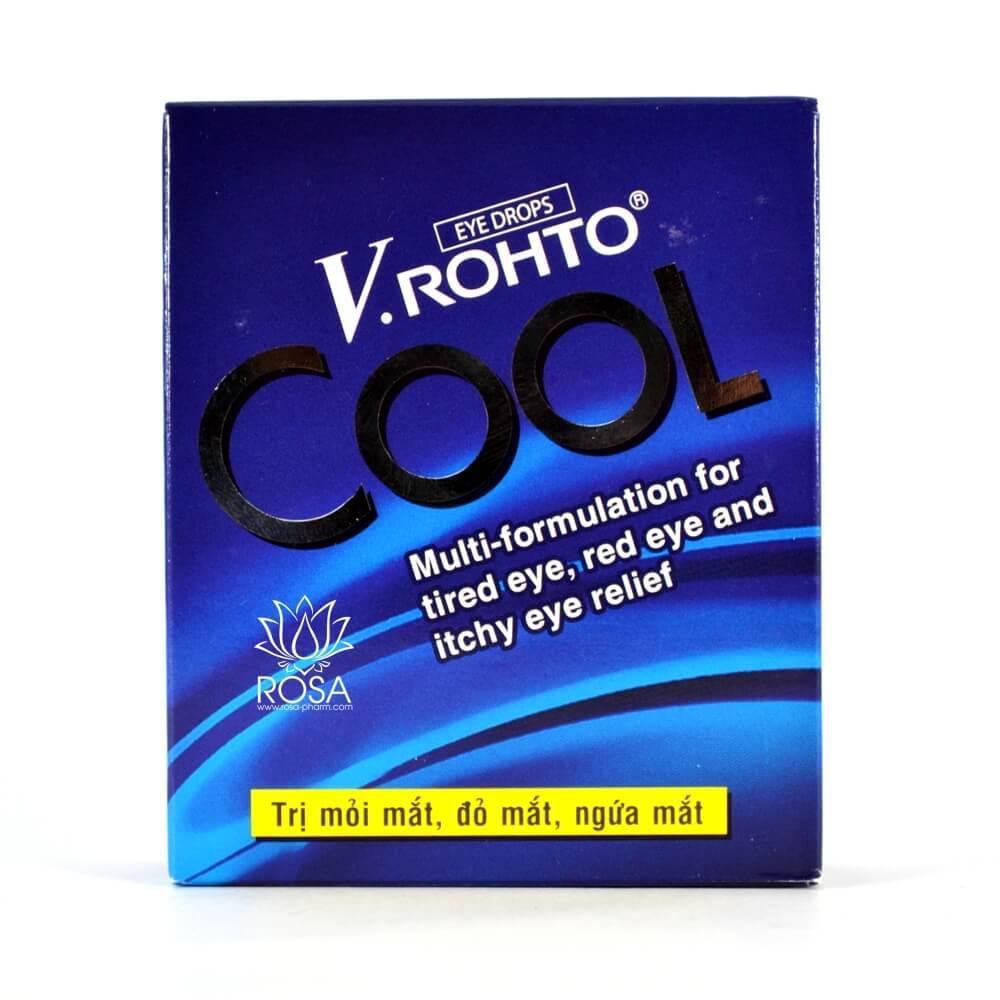 Капли для глаз КУЛ (V.Rohto Cool, Rohto) возвращают остроту зрения