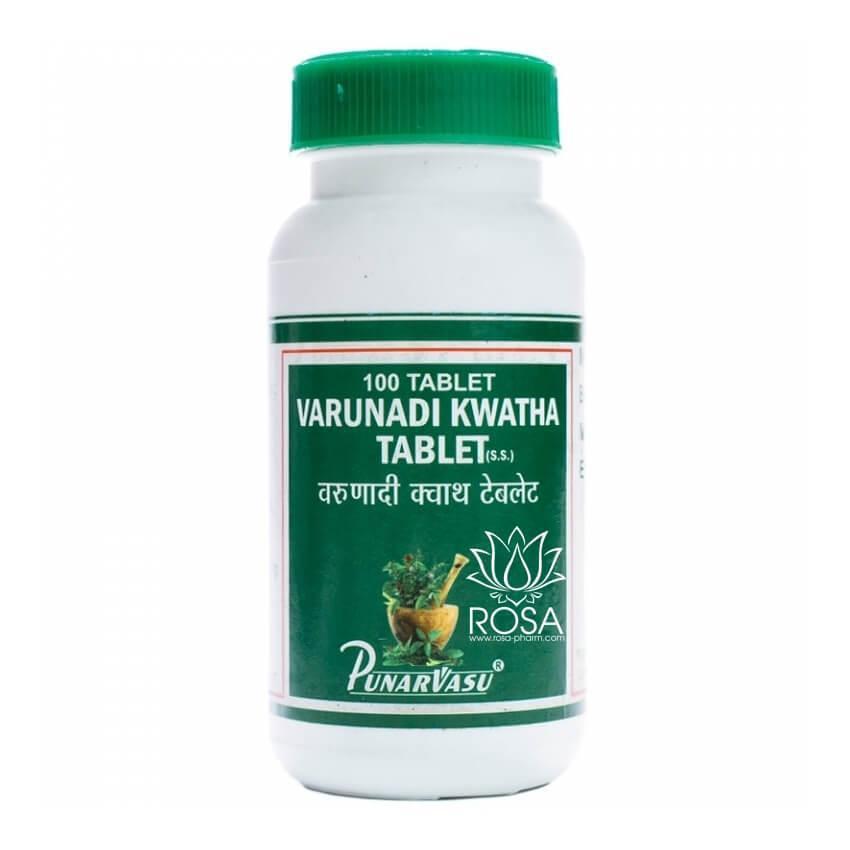 Варунади Кватха (Varunadi Kawatha, Punarvasu), 100 таблеток
