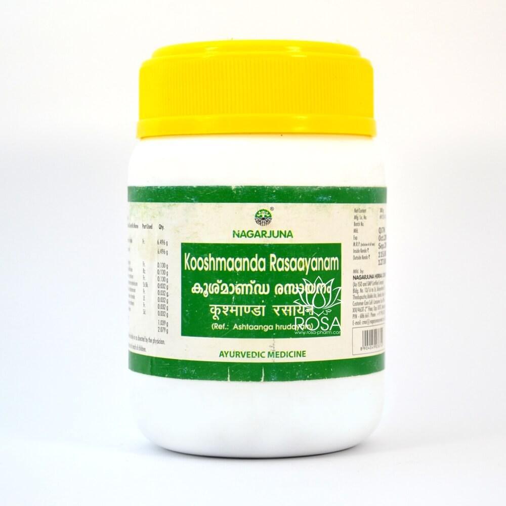 Кушманда расаяна (Koosmaanda Rasaayanam, Nagarjuna) простудные заболевания и болезни дыхательной системы, 300г