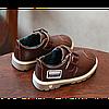 Туфли детские на мальчика из еко кожи коричневые Frogprince размер 21-30, фото 2