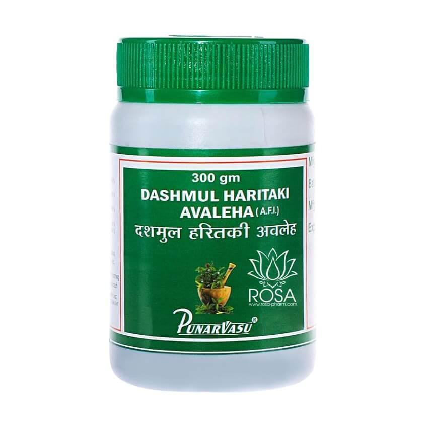 Дашамул Харитаки Авалеха (Dashmul Haritaki Avaleha, Punarvasu) универсальное очищающее средство, 300 грамм