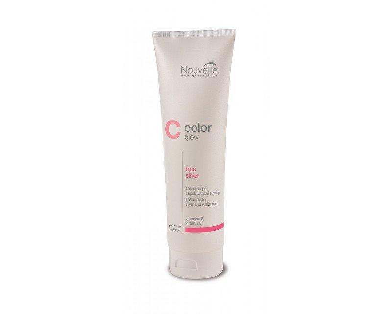 Nouvelle True Silver Shampoo Шампунь против желтизны волос, 200 мл
