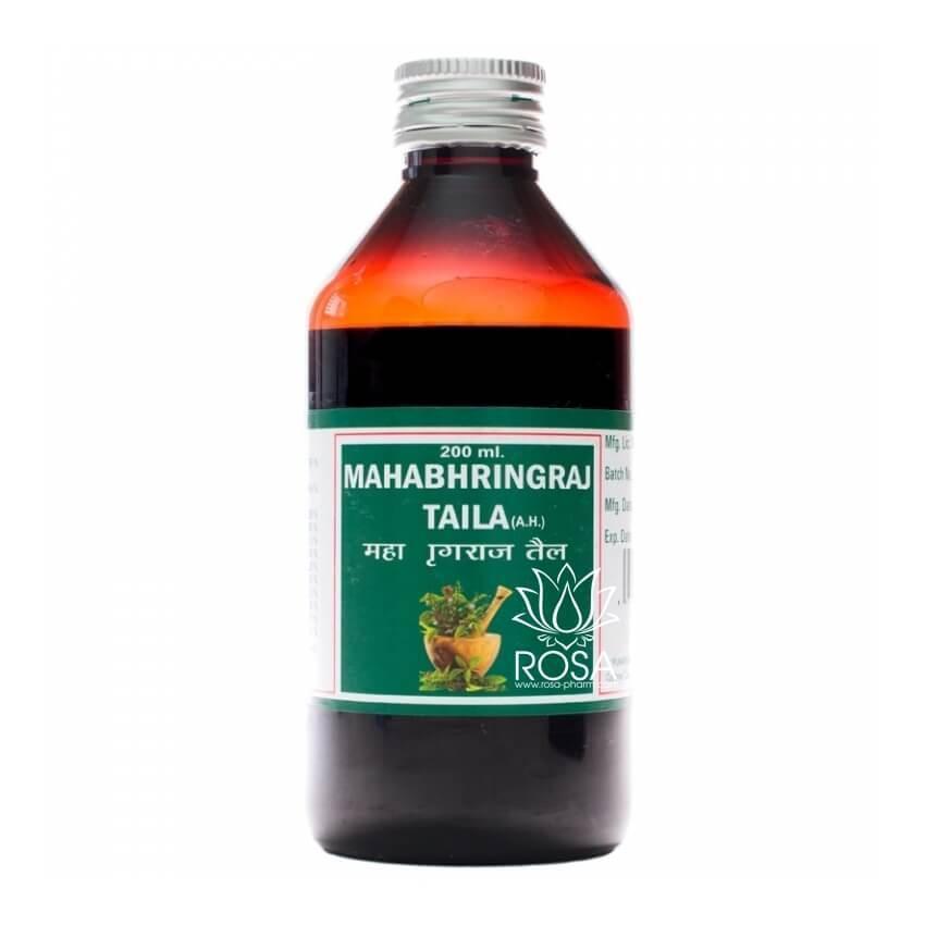 Махабрингарадж таил (Mahabhringraj Taila, Punarvasu) стимулятор роста волос, 200 мл