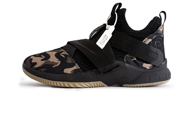 low priced fcc22 4f8f3 Баскетбольные кроссовки Nike LeBron James Soldier 12 Black/Camo