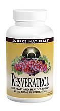 Ресвератрол 40мг, Source Naturals, 60 таблеток