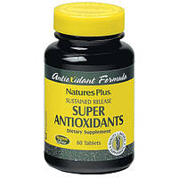 Супер Антиоксиданты, Natures Plus, 60 таблеток