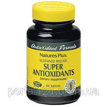 Супер Антиоксиданти, Natures Plus, 60 таблеток