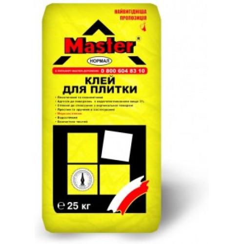 Смесь строительная сухая модифицированная «Master-Normal» (25 кг)