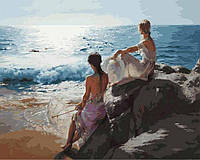 Картина по номерам Белоснежка «У самого синего моря» 937-AB