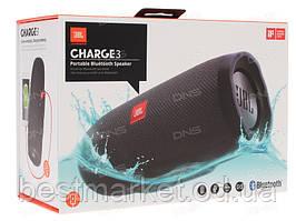 Портативна вологостійка Bluetooth колонка JBL Charge 3