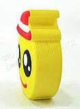 """Компактний зовнішній акумулятор PowerBank Emoji """"Смайлик в капелюсі"""" 8800 mAh 01010, фото 3"""