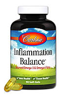 Противовоспалительный Комплекс, Inflammation Balance, Carlson, 90 желатиновых капсул