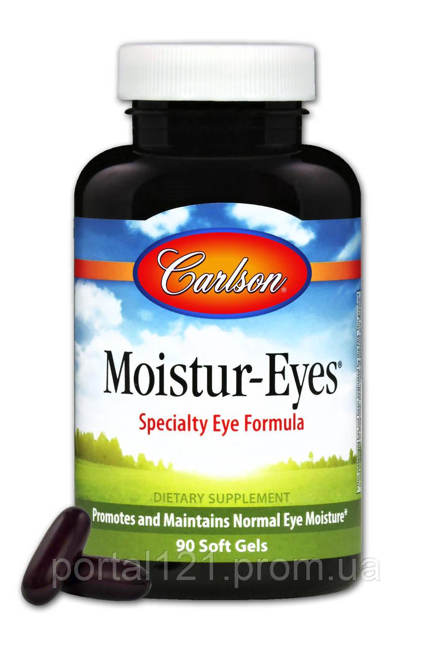Комплекс для Поддержки Глаз, Moistur-Eyes, Carlson, 90 желатиновых капсул