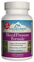 Комплекс для Нормализации Кровяного Давления, RidgeCrest Herbals, 120 гелевых капсул