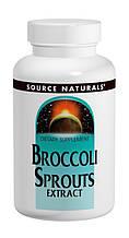 Екстракт Броколі 250 мг, Source Naturals, 60 таблеток