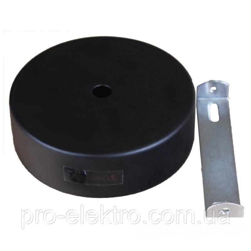 Аксессуары для трековых светильников EH-NKRP- 0003 Настенное крепление черное 15W D:78mm H:30mm