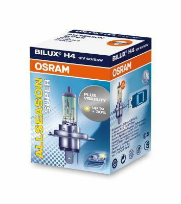 Лампа галогенная ALLSEASON SUPER H4 12V 60/55W ALS P43t