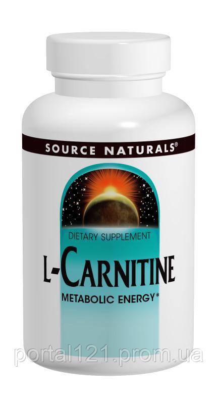 L-Карнитин Фумарат 250 мг, Source Naturals, 120 капсул