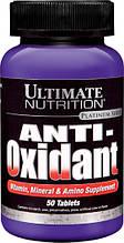 Вітаміни, Мінерали та Аміно Добавки, Anti-Oxidant, Ultimate Nutrition, 50 таблеток