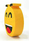 """Прикольний зовнішній акумулятор PowerBank Emoji """"Смайлик Посмішка"""" 15000 mAh 01009, фото 8"""