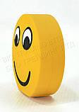 """Прикольний зовнішній акумулятор PowerBank Emoji """"Смайлик Посмішка"""" 15000 mAh 01009, фото 5"""