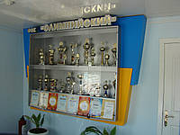 Изготовление стендов для кубков и наград, фото 1