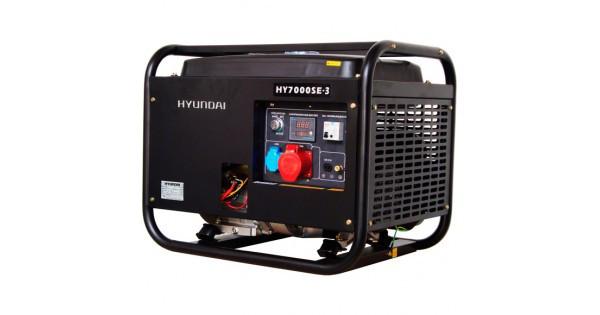 Трехфазный бензиновый генератор HYUNDAI Professional HY 7000SE-3 5 (5.5) кВт