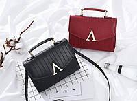 Модная женская сумка кожаный сундучок V Valentino Повседневный изысканный аксессуар Доступная цена Код: КГ5907, фото 1