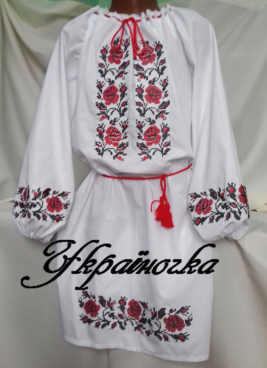 Плаття вишите для дівчинки