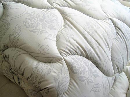 Теплое одеяло двуспальное Евро 200*210 (холофайбер, хлопок), фото 2