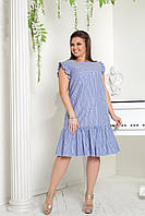 ddb1ced3138 Короткое летнее платье прямого кроя