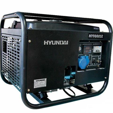 Бензиновый генератор HYUNDAI Professional HY 9000SE 6,0 (6,6) кВт