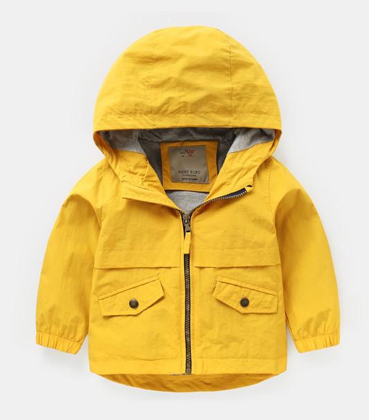 Ветровка-Куртка желтая рост 104 см бренд Right Euro