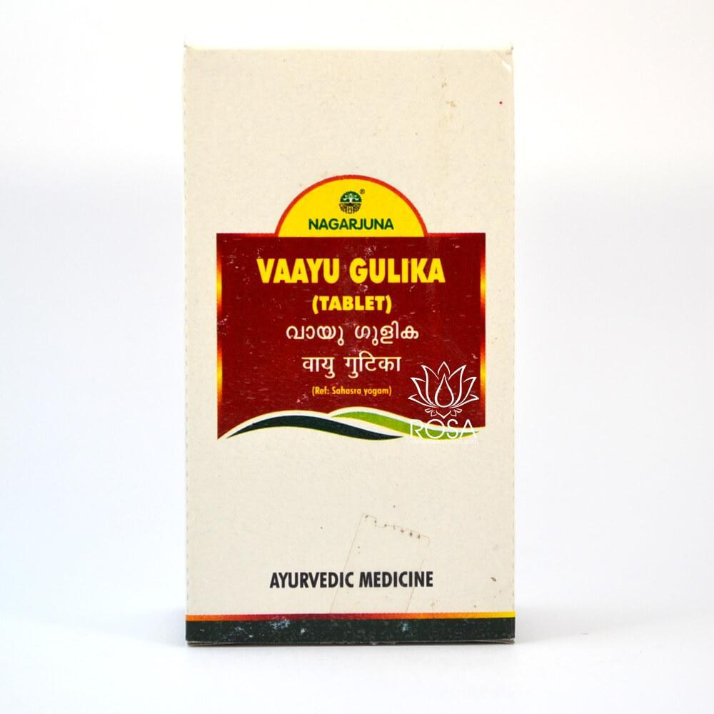 Вайю Гулика (Vaayu Gulika, Nagarjuna) для сердца и при желудочных проблемах, 100 таблеток