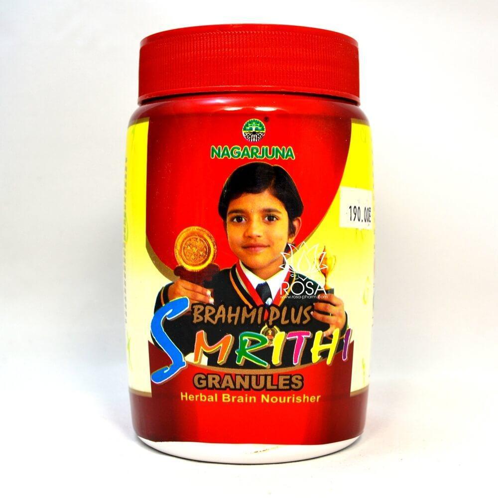 Брахми плюс Смритхи улучшает работу мозга (Brahmi Plus Smrithi Nagarjuna), 200 грамм