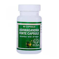Ашвагандха Форте (Ashwagandha Forte, Punarvasu), 60 капсул