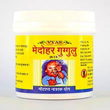Медохар Гуггул (Medohar Guggulu, Vyas Pharmaceuticals) аюрведический препарат для похудения, 100 таблеток