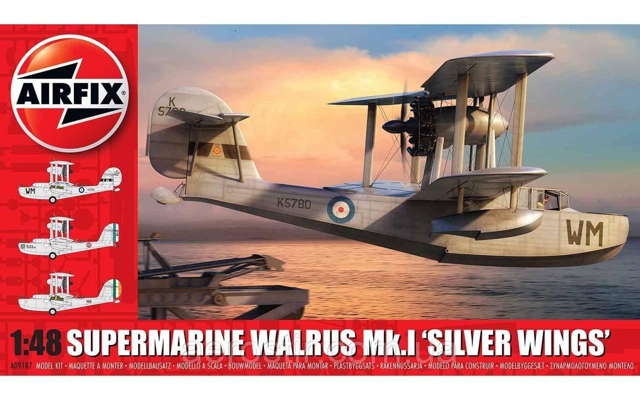 Supermarine Walrus Mk.1 'Silver Wings' 1/48 AIRFIX 09187