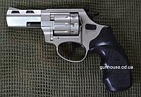 """Револьвер под патрон Флобера STREAMER R2 3"""" satin (черный пластик), фото 1"""