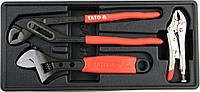 Вставка в инструментальный шкаф YATO: шарнирно-губцевый инструмент, 3ед.