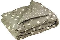 Одеяло особо теплое овечья шерсть 140х205 Руно Grey Star