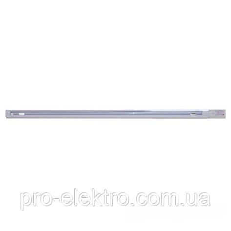 Аксессуары для трековых светильников EH-RT-0002 Рельса белая 2м, фото 2