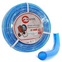 """Шланг для питьевой воды 3-х слойный 1/2"""", 10м, армированный, PVC Intertool GE-4051"""