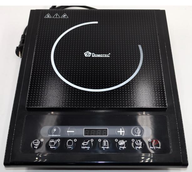 Индукционная настольная электроплита Domotec MS-5831 (2000W)